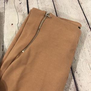 Forever 21 Pants - Forever 21 Ribbed Knit Leggings Size Large Tan